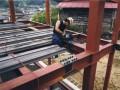 南棟 鉄骨建て方